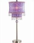 Lite Source in PS Sandy Table Lamp LS-20295PS-LAV