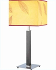 Lite Source in PS with D. Walnut Table Lamp LS-20170