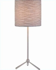 Lite Source in PS with Jacquard Fabric Shade Table Lamp LS-21596