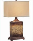 Lite Source in Rusted Gold Table Lamp LS-21214
