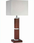 Lite Source in Walnut Acrylic Accent Dallan Table Lamp LS-21384