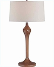 Lite Source in Walnut Wood Body Table Lamp LS-21290