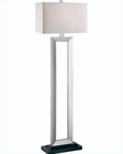 Lite Source Lite Floor Lamp Mervin LSF-80822SIL-WH