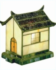 Lite Source ln Tiffany Accent Lite Pagoda Table Lamp LS-LN-1636