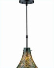 Lite Source Mixed Glass Shade Kassidy Pendant Lite LS-19848MXD