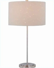 Lite Source PS Bag. Laser Cut Microfiber Shade Table Lamp LSF-21361