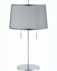 Lite Source PS Metal Gauze Shade Moderna Table Lamp LS-3924PS