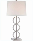 Lite Source PS White Fabric Isaia Table Lamp LSF-22074