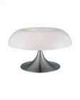 Lite Source PS White w/ Acrylic Shade Pliant Table Lamp LS-2901PS-WHT