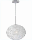 Lite Source PS with Clear Acrylic Shade ICY Pendant Lamp LS-19598