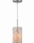 Lite Source PS with Shell Mosaic Shade Pendant Lamp LS-19381