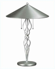 Lite Source Satin Steel Metal Torsion Table Lamp LS-3497SS