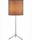 Lite Source Table Lamp in PS Wood Printed Paper Shade LS-21595