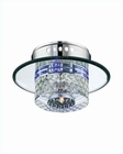 Lite Source Wall Ceiling Lamp with Crystal Glass Quotom LS-5611