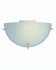 Lite Source Wall Sconce PS with Frost Glass Shade Fluor. LS-1338PL