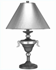 Lite Source with Silver Textured Paper Shade Table Lamp LS-3865