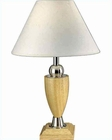 Lite Source Wood Table Lamp PS Natural with Paper Shade LS-3639PS-NAT