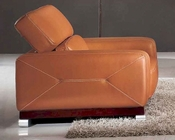 Living Room Chair in Italian Leather 33SS384