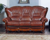 Living Room Full Leather Sofa 33SS312