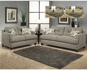 Living Room Set Aukland in Gray Finish BH-47SS11