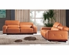Living Room Sofa Set in Italian Leather 33SS381