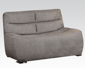 Loveseat in Gray Linen by Acme Furniture AC51721