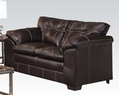 Loveseat in Premier Onyx Hayley by Acme Furniture AC50351