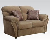 Loveseat Patricia Light Brown by Acme AC51951