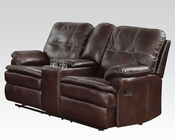 Loveseat w/ Console Zamora by Acme Furniture AC50753