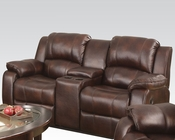 Loveseat w/ Console Zanthe by Acme Furniture AC50513