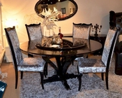 Luxury Set w/ Crocodile Lacquer Dining Table 44D836-150-SET