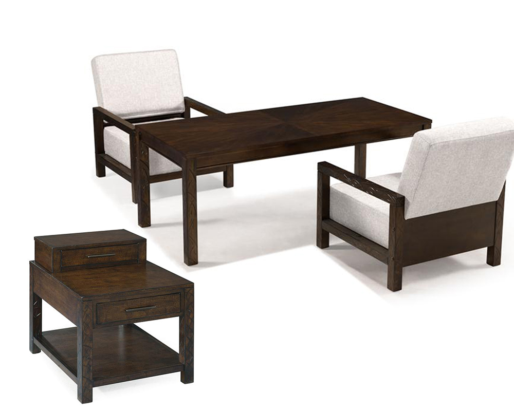 magnussen coffee table set cavelle mg t235set