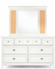 Magnussen Drawer Dresser and Cork Mirror Kenley MG-Y1875-43