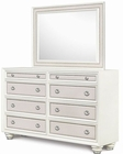 Magnussen Drawer Dresser and Landscape Mirror Diamond MG-B2344-20-40