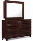 Magnussen Drawer Dresser and Landscape Mirror Empulse MG-B2230-40