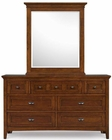 Magnussen Drawer Dresser and Portrait Mirror Riley MG-Y1873-42