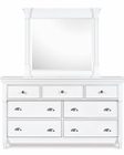 Magnussen Drawer Dresser & Mirror Kasey MG-B2026-40