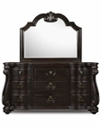 Magnussen Drawer Dresser & Shaped Mirror Vellasca MG-B1771-20-45