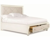 Magnussen Island Bed with Storage Footboard Diamond MG-B2344SBED