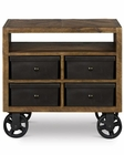 Magnussen Nightstand with Casters Braxton MG-Y2377-01