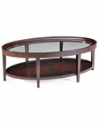 Magnussen Oval Cocktail Table Carson MG-T1632-47