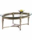 Magnussen Oval Cocktail Table Galloway MG-37526