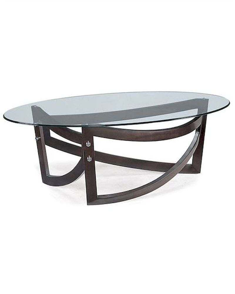 Magnussen oval cocktail table lysa mg t1860 47 for Cocktail table 47