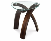 Magnussen Oval End Table Allure MG-T1396-22