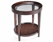 Magnussen Oval End Table Carson MG-T1632-07