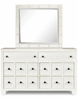 Magnussen Portrait Mirror and Drawer Dresser Hadley MG-Y2006-42