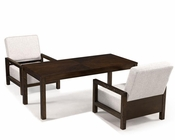 Magnussen Rectangular Cocktail Table and 2 Chairs Cavelle MG-T2357-43