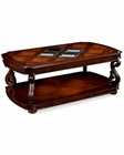 Magnussen Rectangular Cocktail Table w/ Casters Harcourt MG-T1648-43
