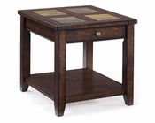 Magnussen Rectangular End Table Allister MG-T1810-03