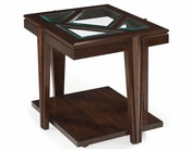 Magnussen Rectangular End Table Demetri MG-T2062-03